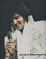 Vintage 1970s ELVIS PRESLEY Special TV Edition Photo Album Concert Souvenir