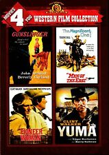 NEW 4  WESTERN  DVD / GUNSLINGER + MAN OF THE EAST + PIONEER WOMAN + YUMA