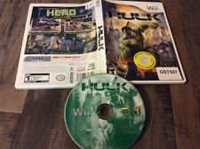 The Incredible Hulk (Nintendo Wii, 2008) Used Prior Rental Free US Shipping