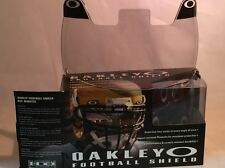 New Oakley 42-003 Adult 60% Light Grey Football Visor Eye Shield