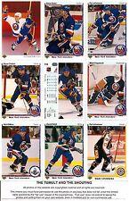 1990-91 UD Upper Deck New York Islanders Complete Team Set (23)