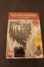 T-SHIRT from DYING LIGHT Collector's Edition - size L White with PROMO BOX