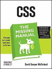 CSS: The Missing Manual, David Sawyer McFarland, O'Reilly Media (2006-08-31)  Ve