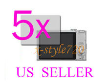 5x Sony CyberShot DSC-HX9V Clear LCD Screen Protector Guard Cover Film