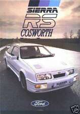 RS COSWORTH opuscolo TUNING parti manuale F1 ORIGINALE fa754