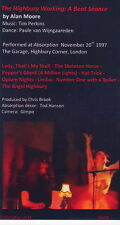 Alan Moore.The Highbury Working:A Beat Seance.DVD of 1997 performance in London