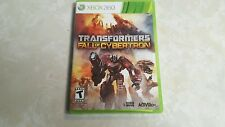 Transformers: Fall of Cybertron (Microsoft Xbox 360, 2012) COMPLETE