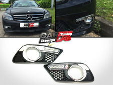Direct-Fit LED Daytime Light DRL Fog lamp For 08-11 Mercedes Benz W204 C300 C350