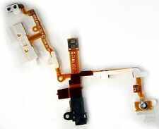 on off Volume Audio Headphone Jack Flex Cable Ribbon For iPhone 3G 3GS Black