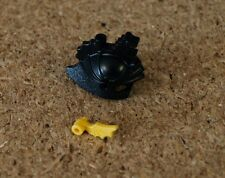 Lego  Minifig Headgear Black Helmet Castle with Dragon Crown Top NEW