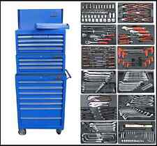 166 US Pro Tool Chest Box BLUE cabinet toolbox with TOOLS ! FINANCE AVAILABLE!