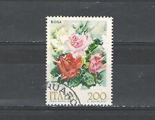 B9608 - ITALIA 1981 - FIORI . ROSA - N 1550 - MAZZETTA  DA 50 - VEDI  FOTO