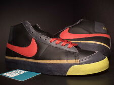 2003 Nike Dunk Blazer Mid ZOO YORK BLACK RED ANTHRACITE GREY GOLD 306800-061 13