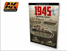 Ak Interactive AKI 403- Book: 1945 German Colors Camouflage Profile Guide