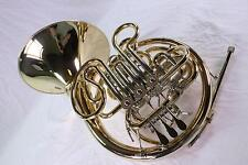 Hans Hoyer K10GA Professional French Horn DISPLAY MODEL GORGEOUS QuinnTheEskimo