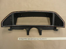 1987-91 Ford F150 - INSTRUMENT CLUSTER GAUGE DASH BEZEL TRIM WOODGRAIN w/ LIGHTS