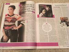Irish Weekend Magazine 31 Dec 2016 LOVING Ruth Negga Photo interview