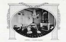 CANNES  HOTEL ELYSEE PALACE IMAGE 1900 ? OLD PRINT