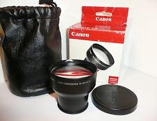 GENUINE CANON TC-DC10 Tele-Converter Lens Powershot S60 S70 S80 Digital Cameras