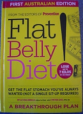 Flat Belly Diet by Liz Vaccariello with Cynthia Sass Health Fitness Hardcover