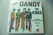 "THE KINKS""DANDY-discoEP 45 giri (4 brani)PYE FRANCE 1966-BEAT UK"" VERY RARE"