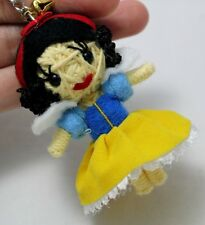 Disney Princess - Snow White Voodoo Figural Keyring Keychain Handmade Doll Toy