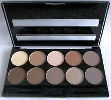 w7 Lidschatten Palette 10 out of 10 braun nude naked neu ovp Eyeshadows 10 Farb
