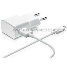 CARGADOR 2A 2000MAH RED CASA PARED CABLE USB SAMSUNG GALAXY S5 S4 S3 MINI BLANCO