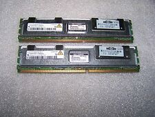 8GB HP Infineon PC2-5300 DDR2  667MHz Fully Buffered FBDIMM (2x 4GB) for Servers