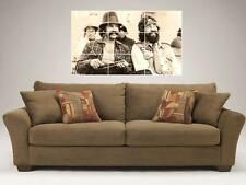 "CHEECH & CHONG MOSAIC 35""X25"" INCH WALL POSTER DOPE AND HIPPIE"