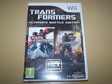Transformers-ultimate battle edition wii neuf & scellé