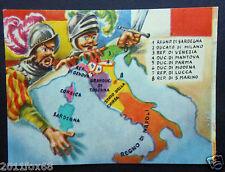 figurines card picture cards cromos figurine le regioni d'italia ieri e oggi 18