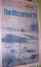 Blizzard of 77 Courier Express Buffalo NY Storm Special Souvenir Edition Paper