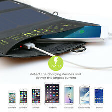 5V 15W Foldable Power Solar Panel Charger Pack for mobile Phone Tablets Loptops