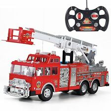 """20"""" Jumbo R/C Rescue Fire Engine Truck Remote Control Toy by Liberty Imports NEW"""