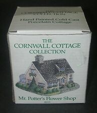 Cornwall Cottage Collection Mr. Potter`s Flower Shop Bh15 Hand Painted Porcelain