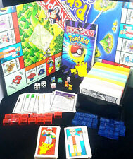Pokemon Monopoly Collector's Edition 1999 Hasbro Parker Brothers 98% complete