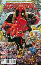 DEADPOOL #1 VOL 5 REGULAR TONY MOORE COVER [MARVEL COMICS 2015]