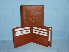 CHICAGO BEARS   Leather BiFold Wallet    NEW    brown 4 +