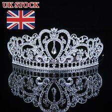 Crystal Bridal Tiara Crown Wedding Prom Pageant Crowns Rhinestone Hair Jewelry