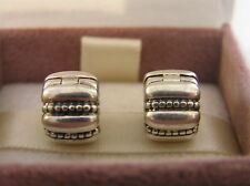 Beautiful Genuine Pandora Crazy Groove Clips x 2   3108