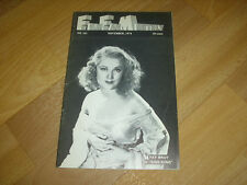 FILM FAN  Monthly US Magazine  Fay WRAY in King Kong cover Nov 74  # 161