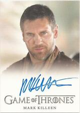 "Game of Thrones Season 3 - Mark Killeen ""Mero"" Autograph Card"
