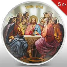 Niue 2012 10$ icon The Last Supper 5 Oz Silver Coin MINTAGE 500 ONLY :RARE: