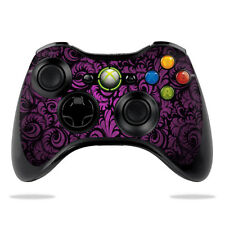 Skin Decal Wrap for Microsoft Xbox 360 Controller sticker Purple Style