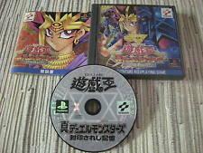 YU-GI-OH! SHIN DUEL MONSTERS KONAMI PLAYSTATION 1 PS 1 JAPONES USADO BUEN ESTADO