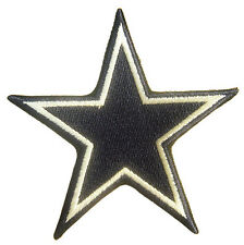 New NFL Dallas Cowboys Star Logo embroidered iron-on patch. 3 x 3.25 inch (i178)