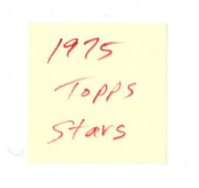 1.79 each STAR CARDS- you pick from 1975 Topps Baseball set