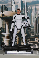 Star Wars Clone Wars Clone ARF TROOPER-custom 3.75 fig. with REMOVABLE helmet.