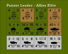 Avalon Hill's Panzer Leader Allied Elite Units Variant Counters
